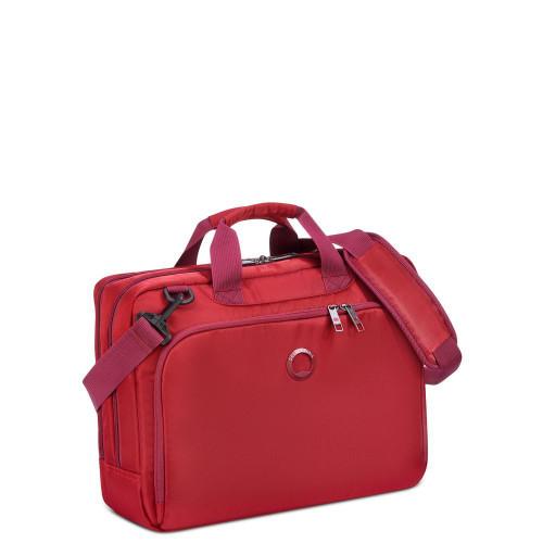 """Сумка-портфель на 2 отделения, для ноутбука 15,6"""", Delsey 3942168"""